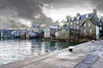 Lerwick's old waterfront